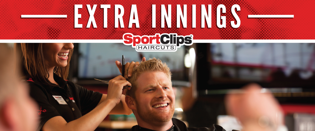 The Sport Clips Haircuts of POMPANO BEACH/LIGHTHOUSE POINT Extra Innings Offerings